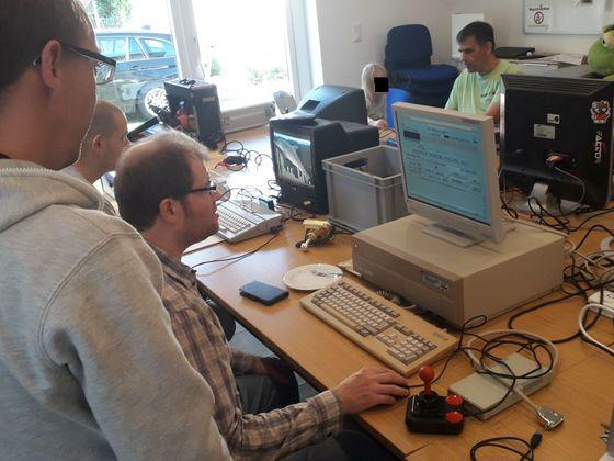 OS 4.1 Odyssee, A2000 gibt Schützenhilfe