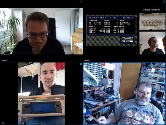 Virtuelle HomeCon 64